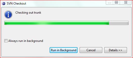 Выполнение загрузки исходного кода сервера Aion