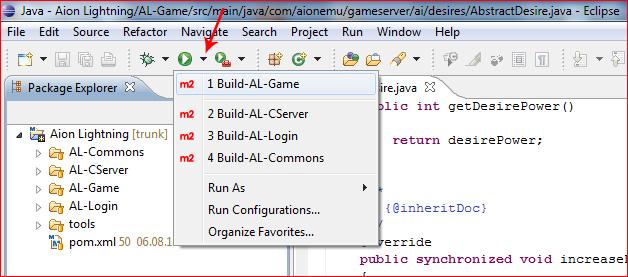 Быстрый запуск компиляции через кнопку Run
