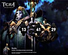 Tera — скринсейвер (заставка) поклонникам игры для системы Windows