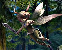 Faeries — маленькие феи в мире TERA