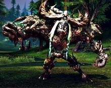 Jalmarak — мощь млекопитающих, рептилий и деревьев мира TERA