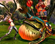 Tuwangis — божественная лягушка в TERA