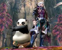 Новый питомец «Панда» в Aion