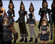 «Hellsing Hat» — анимационный головной убор Lineage 2 Interlude